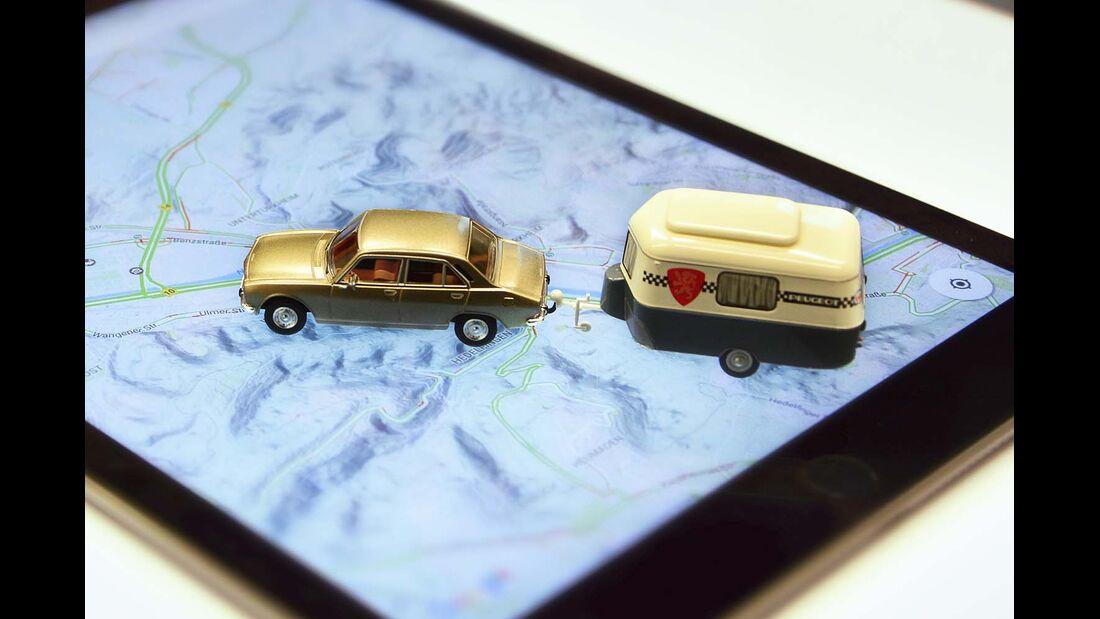 Routenführung via Smartphone und Tablet wird immer beliebter.