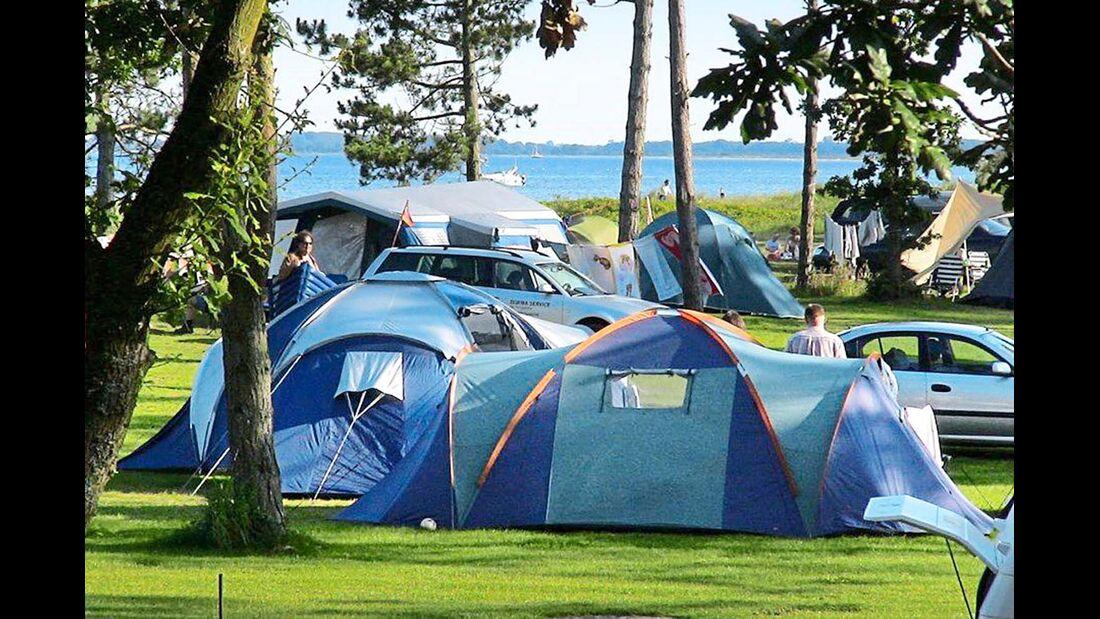 Ruhig gelegener Platz mit großen Parzellen und teilweise kostenpflichtigen Freizeitangeboten wie Minigolf und Schwimmbad.