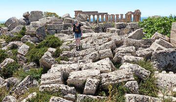 Ruinen der griechischen Stadt Selinus