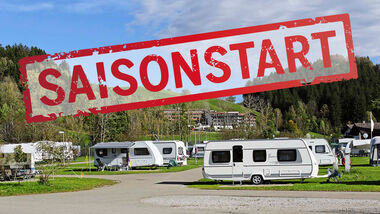 Saisonstart Camping 2020