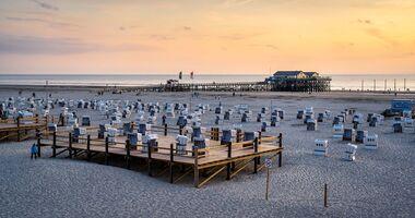 Sankt Peter-Ording, Nordsee, Strand