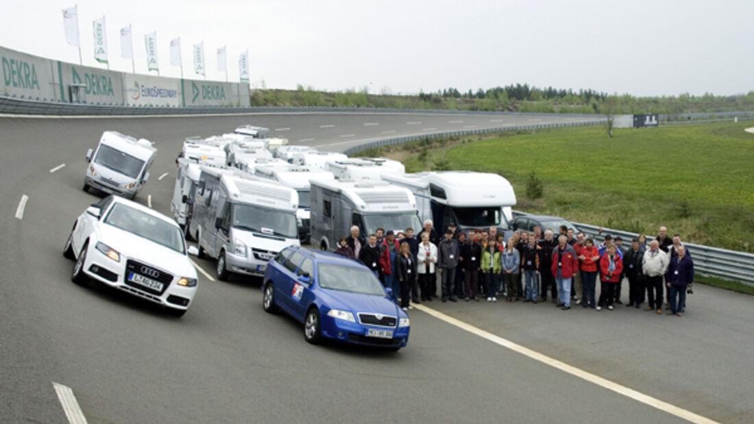 Schaffer mobil Fahrsicherheit Training wohnmobil reisemobil caravan wohnwagen