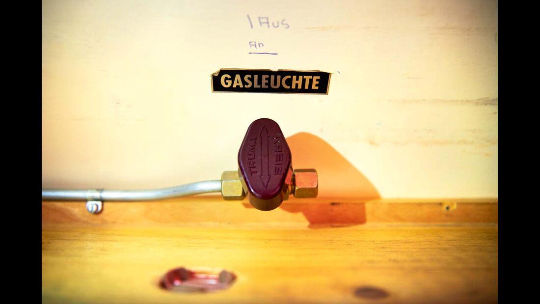 Schalter für Gasleuchte