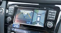 Scharfer Bildschirm mit 360-Grad-Draufsicht.