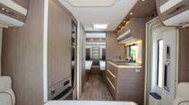 Schon der kleinste Exclusiv,  der 550 ER, ist ein stattlicher Caravan.