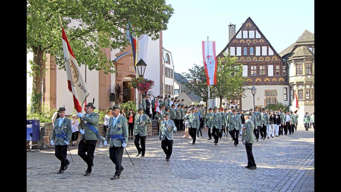 Schützenparade Höxter