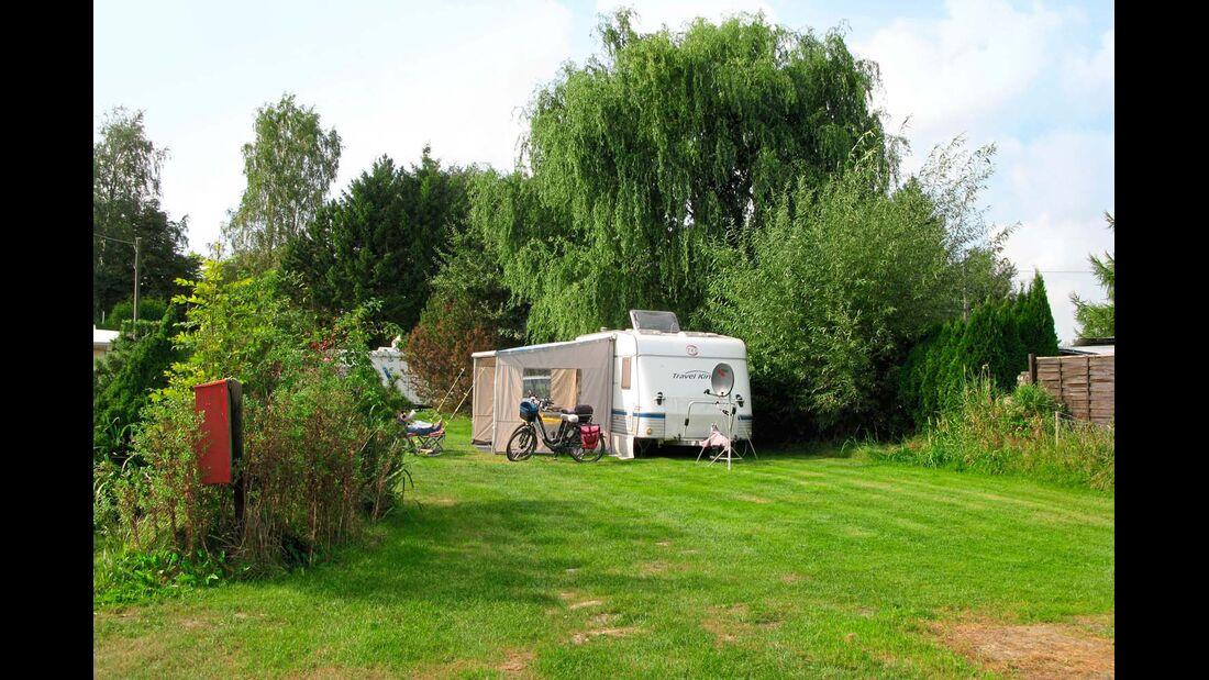 Sehr ruhig gelegener, naturnaher Campingplatz.