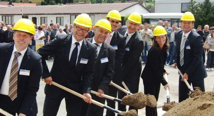 Seite Mitte Juli wird die Tabbert-Wohnwagenproduktion in Mottgers für sieben Millionen Euro saniert.