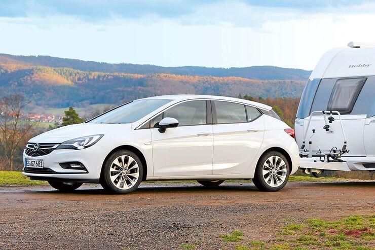 Seitenansicht Opel Astra
