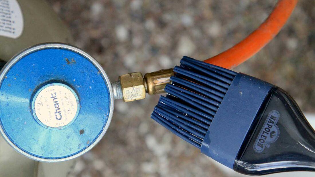 Sicherheitscheck für den Gasgrill