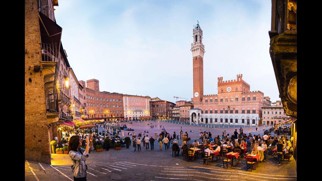 Siena hat seinen mittelalterlichen Charme bewahrt.