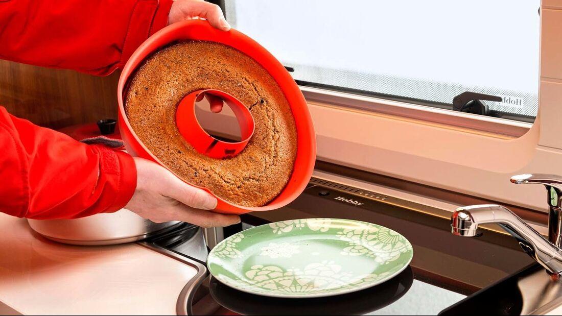 Silikon Kuchenbackform von Omnia