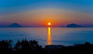 Sizilien Sonnenuntergang