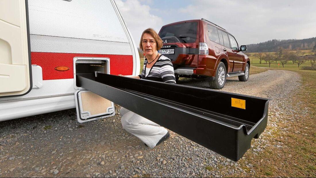 Skibox taugt auch für anderes Gepäck im Kabe Briljant