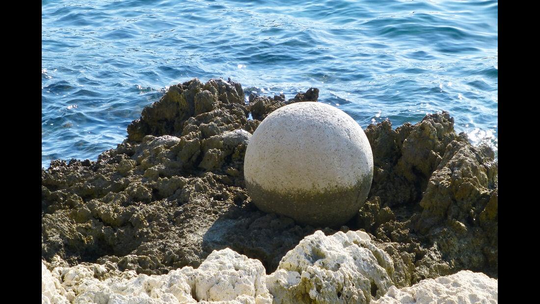 Skulpturen am Strand