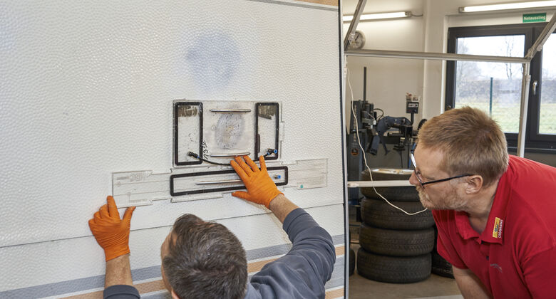 Smart Repair Hammerschlag