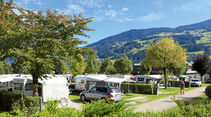 Sommer im Camping Hell im Zillertal, Tirol