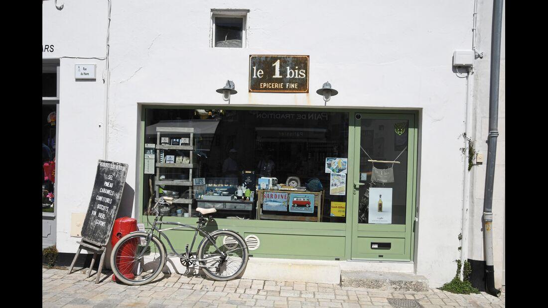 Souvenierladen in Frankreich