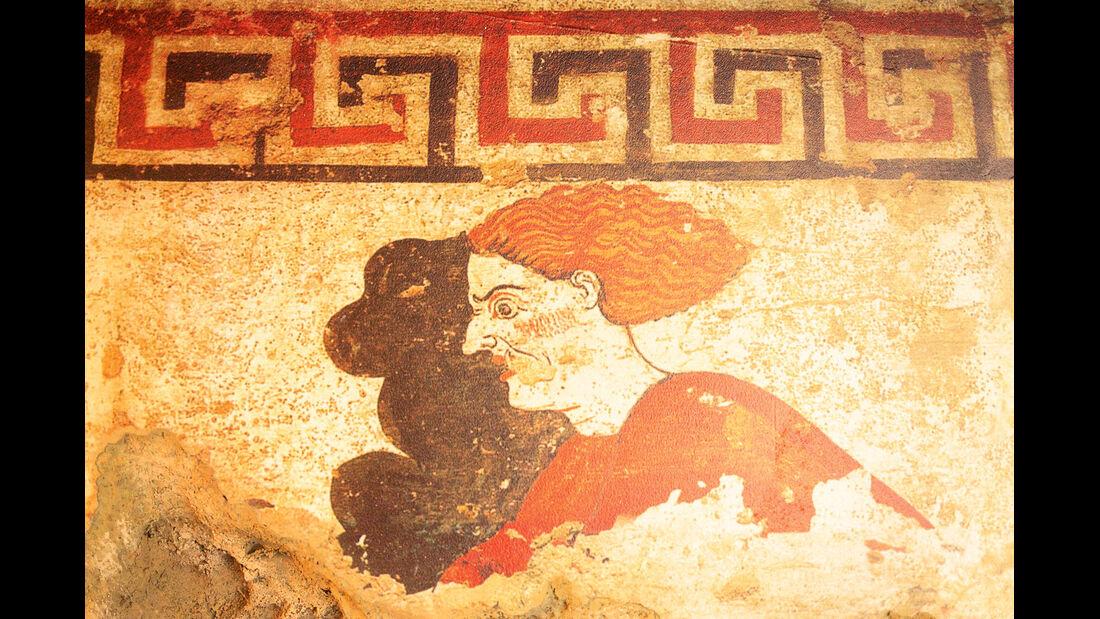 Spektakulaere Funde aus der Zeit der Etrusker.