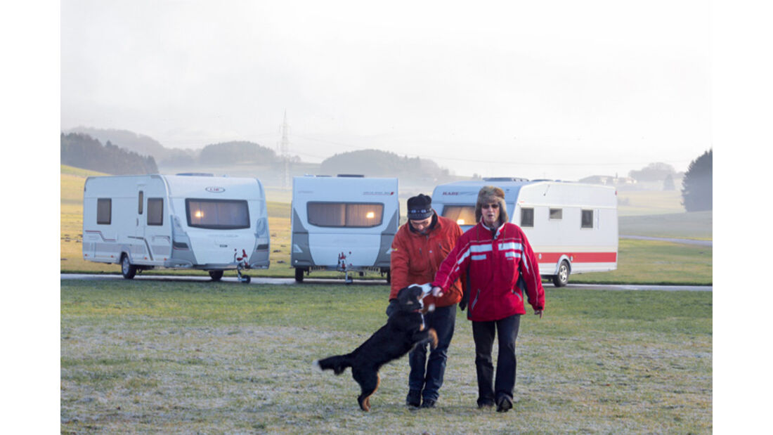 Spezialtest: Wintertaugliche Caravans