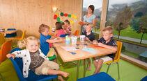 Spielzimmer für Kinder im Camping Hell