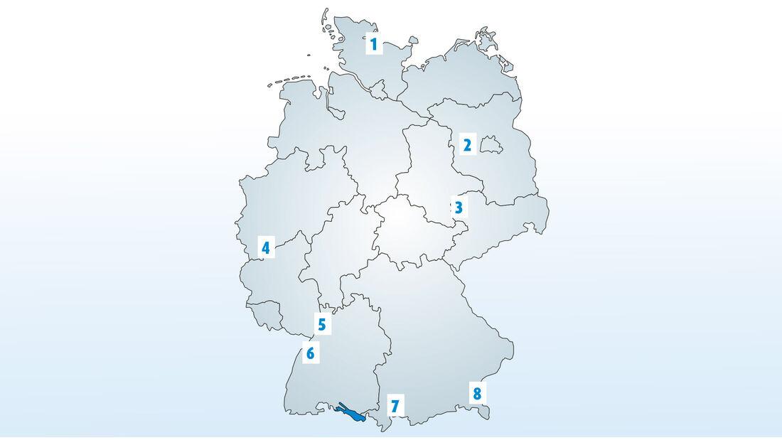 Sportstätten in Deutschland