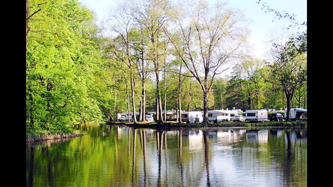 Spreewald-Natur-Camping am Schlosspark.