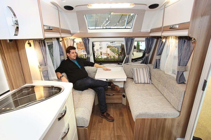 Etagenbett Wohnwagen Einbauen : Alle wohnwagen neuheiten auf der cmt caravaning