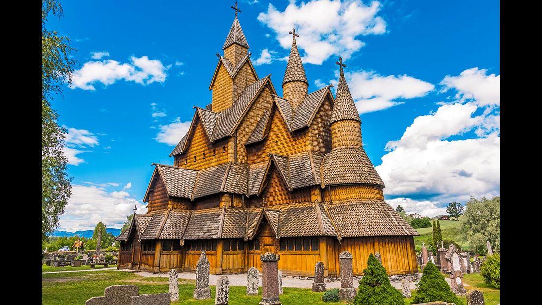 Stabkirche in Notodden