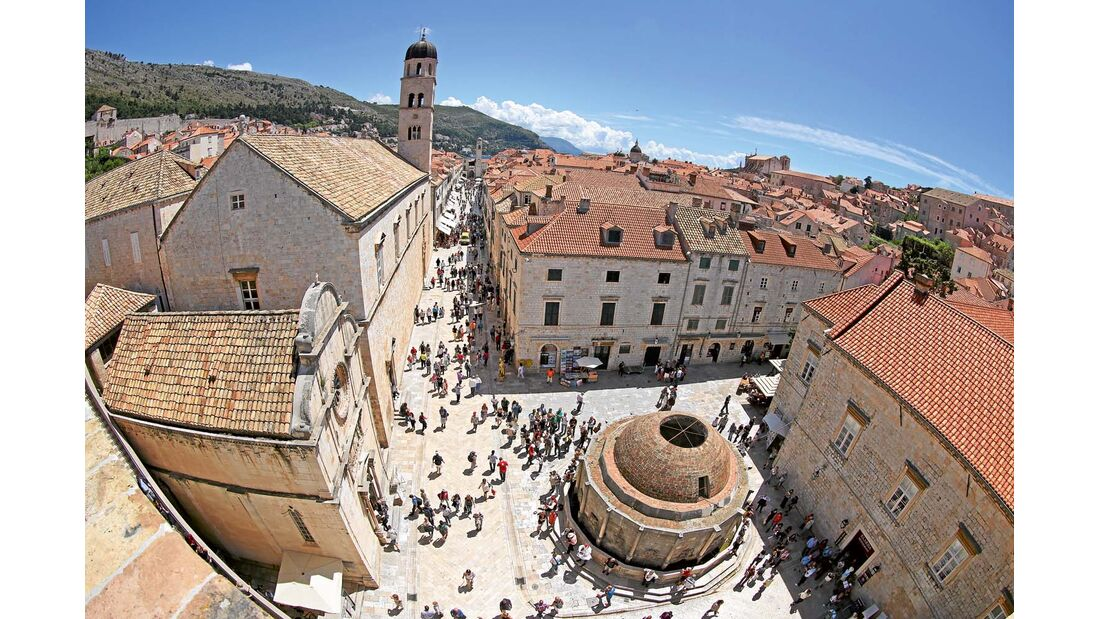 Stadtmauer Dubrovniks