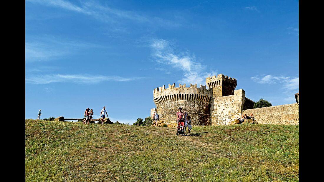 Stadtmauer von Populonia