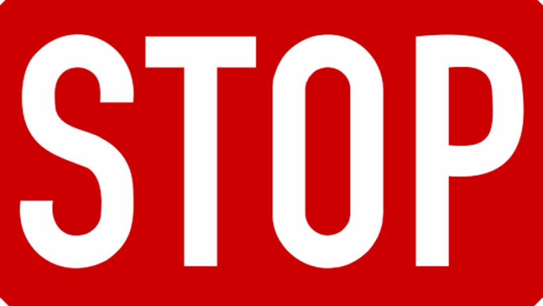 Stoppschild Auto Clubs Europa ACE Caravan