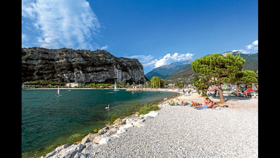 Strand am Gardasee