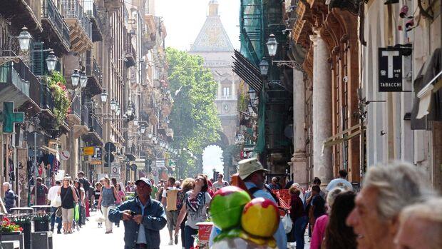 Straße in Palermo