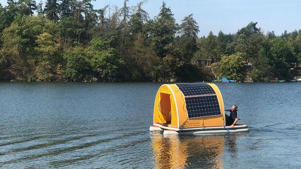 Stromboot eWalker Hausboot (2019)