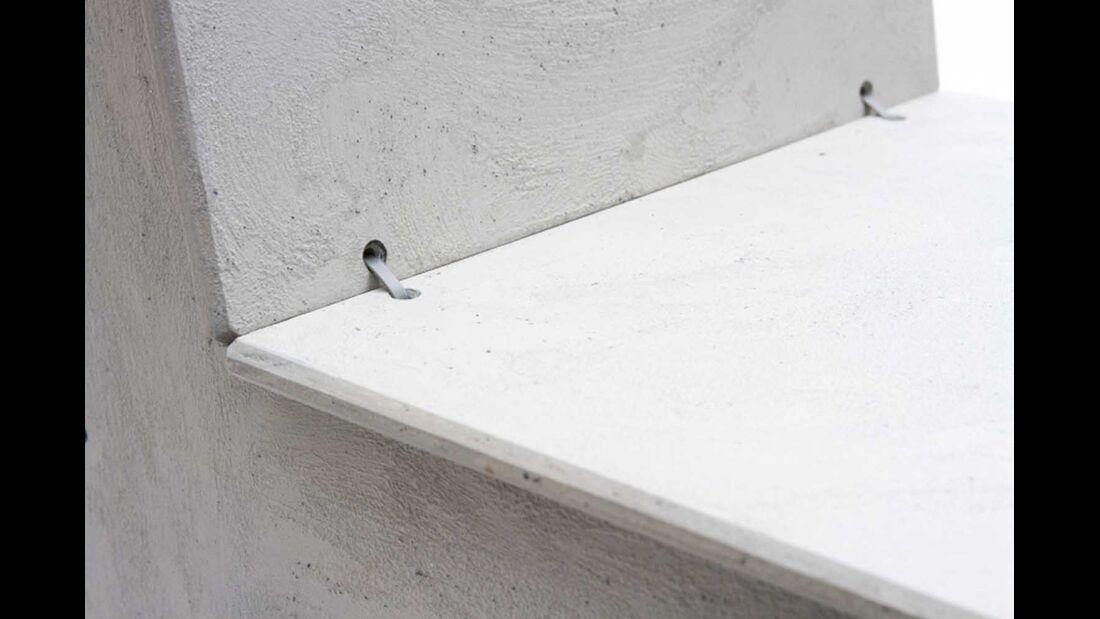 Stuhl Luise Beton Detail