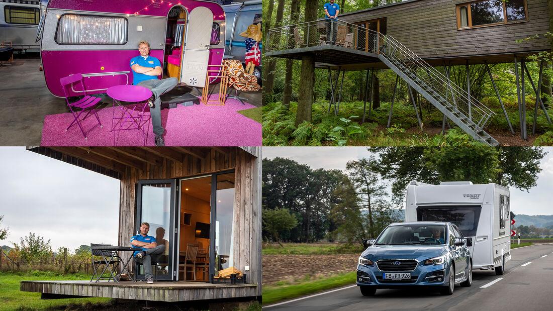 Subaru Glamping Tour Fendt