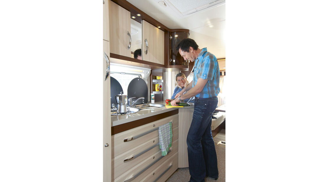 Supertest: Hobby Prestige 610 UL - Küche