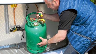 Tankflasche Gas