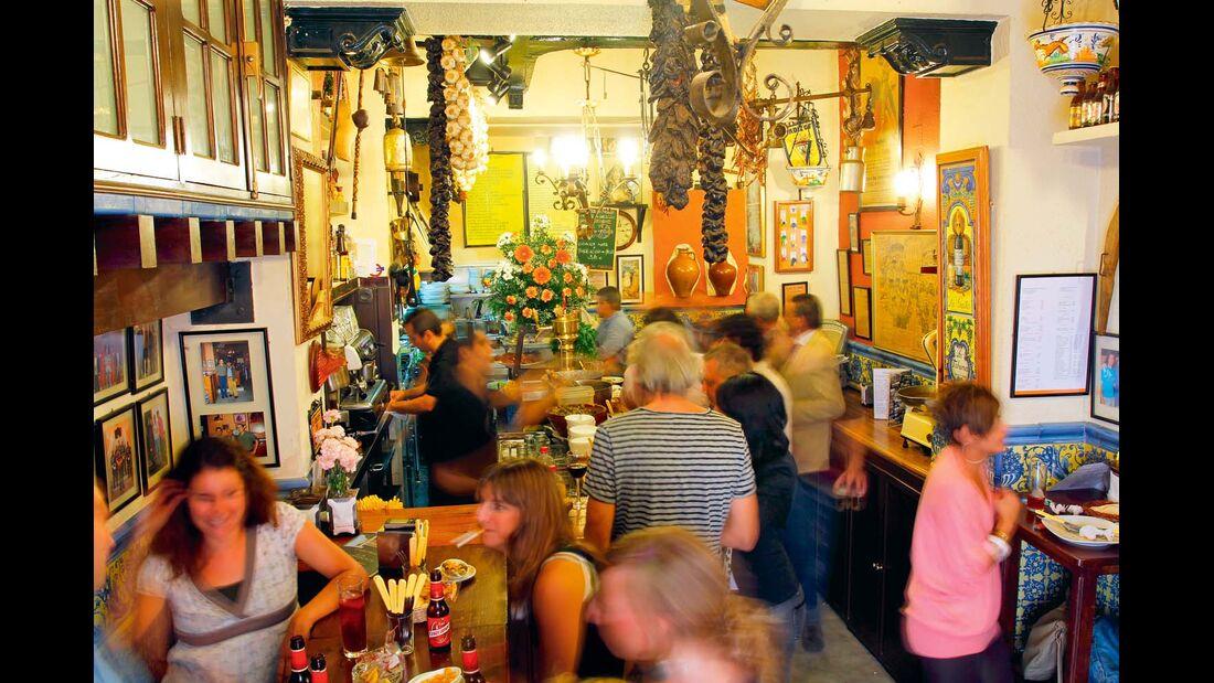 Tapas-Bars in Sevilla