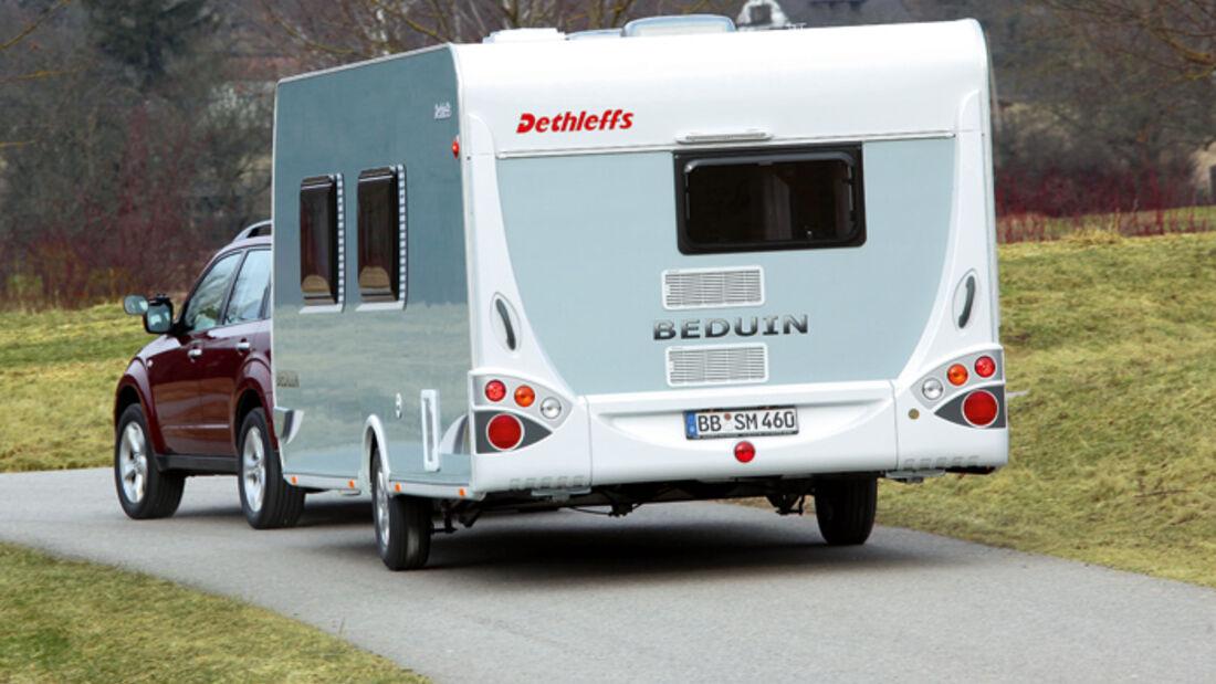 Test: Dethleffs Beduin 545 DBM