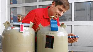 Test: Füllstandsanzeiger für Gasflaschen