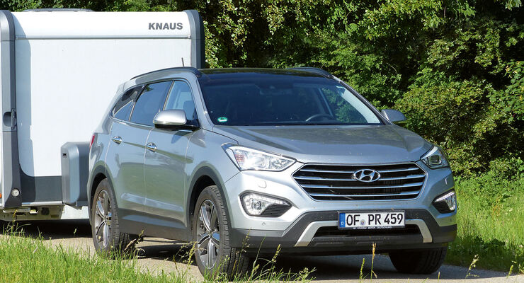Test: Hyundai, Grand Santa Fe
