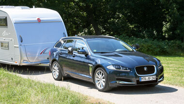 Test: Jaguar XF