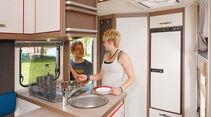 Test: Knaus Lifestyle, Küche