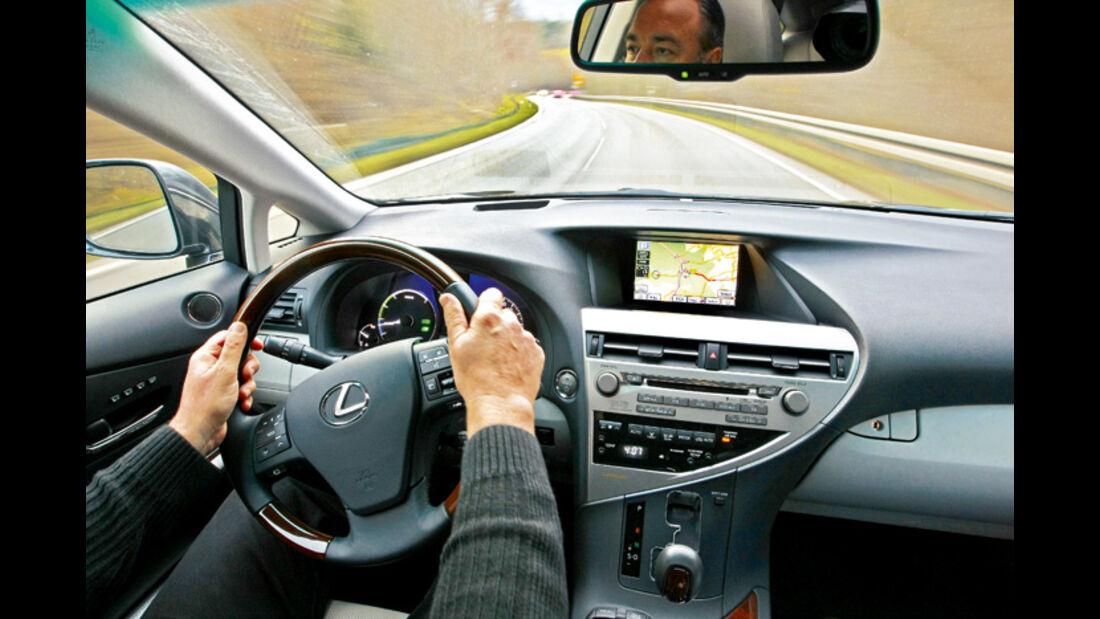 Test: Lexus RX 450 H