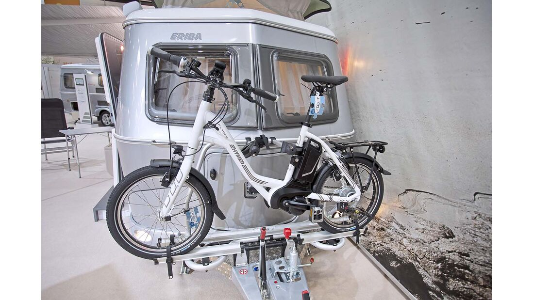 Thule-Fahrradträger für 395 Euro.