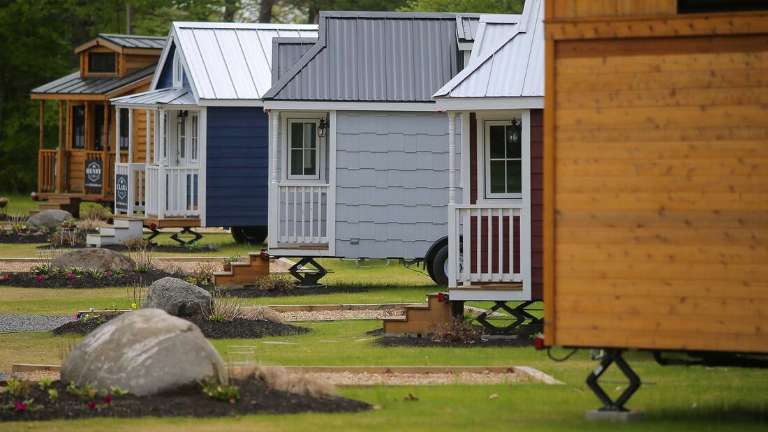 Tiny Home Village Offers Fun-Sized Travel Experience