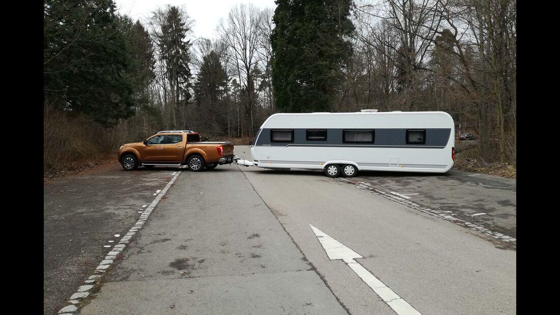 Tipps Caravan-Fahren Ganze Länge