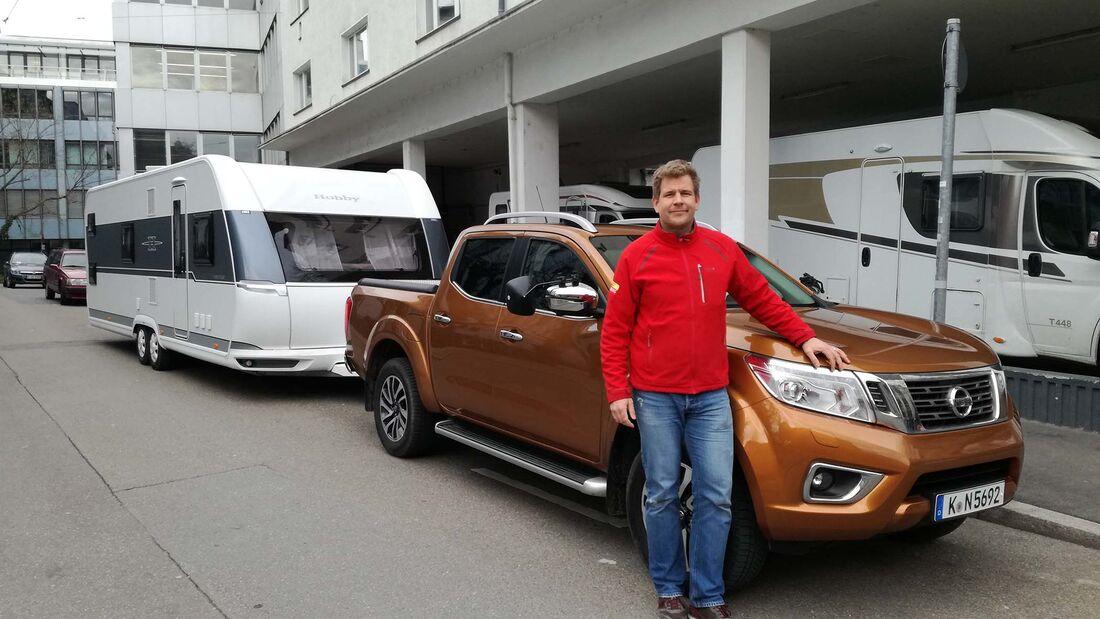 Tipps Caravan-Fahren Ingo und Caravan